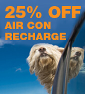 25% OFF AIR CON RECHARGE