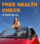 Get a free vehicle health check and fluid top-up from BGS car repairs Winnersh, Reading
